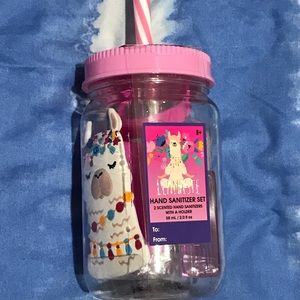 Other - Llamaste Hand Sanitizer&Travel Cup/Straw Gift Set